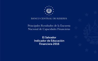 Indicador de Educación Financiera